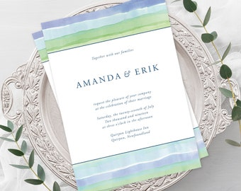 Wedding  Invitations - Westcoast Shores (Style 13625)