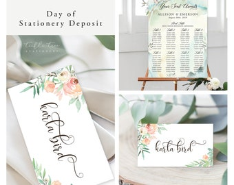 Nature's Dreamers (Style 13821) - Day of Stationery Deposit Add On