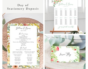 Country Charm (Style 13798) - Day of Stationery Deposit Add On