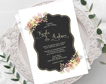 Wedding  Invitations - Country Garden (Style 13632)
