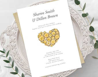 Wedding Invitations - The Hunt is Over (Style 13569)