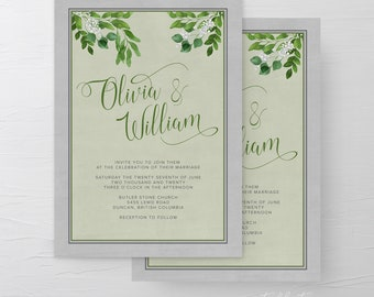 Ancient Garden (Style 13975) - Wedding Invitations