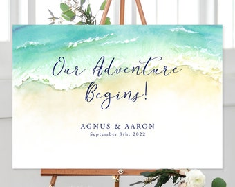 Our Adventure Begins/Design & Printing or Printable File - Tropical Breeze