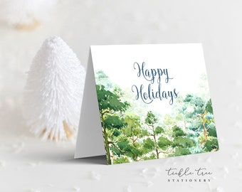 Holiday Note Card - Holiday Forest (HC09)