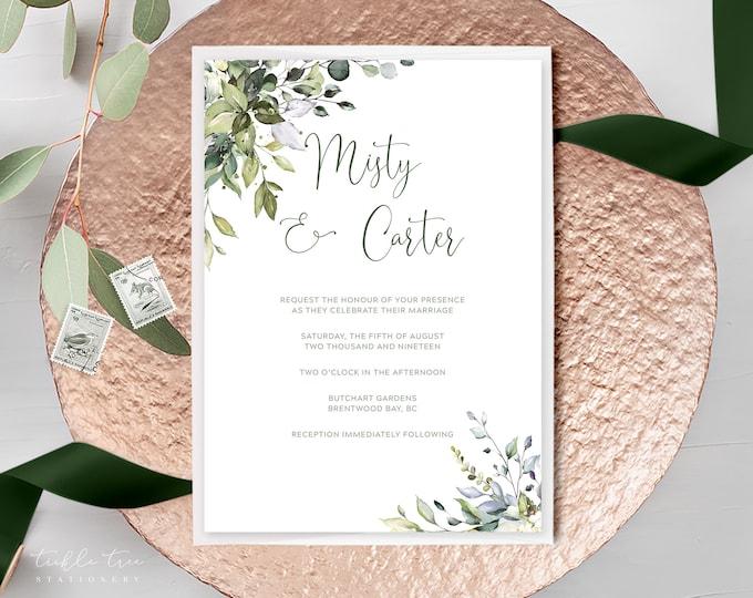 Botanical Bay (Style 13915) - Wedding Invitations