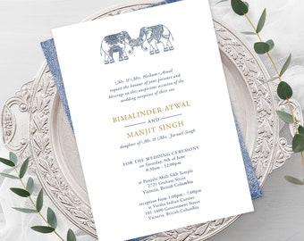 Wedding Invitations - One Heart (Style 13792)