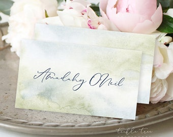 Day Of Details - Place Cards/Design & Printing - Morning Forest (Style 13774)