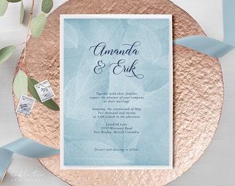 Wedding Invitations - West Coast Whisper (Style 13934)