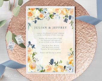 Wedding Invitations - Thistle & Bloom (Style 13796)