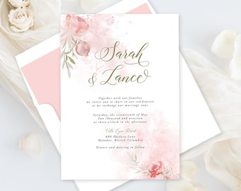 Printable Wedding Stationery - Mystic Garden (Style 13830)
