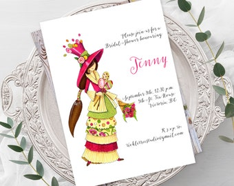 Bridal Shower Invitations - Fancy Party (Style 13614)
