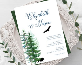 Wedding Invitations - Westcoast Wed (Style 13631)