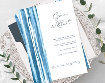 Wedding Invitations - Shibori (Style 13902)