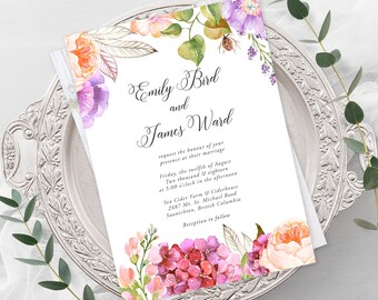 Wedding Invitations - English Meadow (Style 13058)
