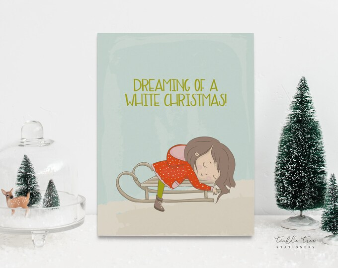 Holiday Greeting Card Set - Christmas is Almost Here! (Style 14001)