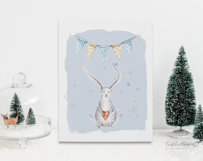 Holiday Greeting Card Set - Woodland Love (Style 13998)