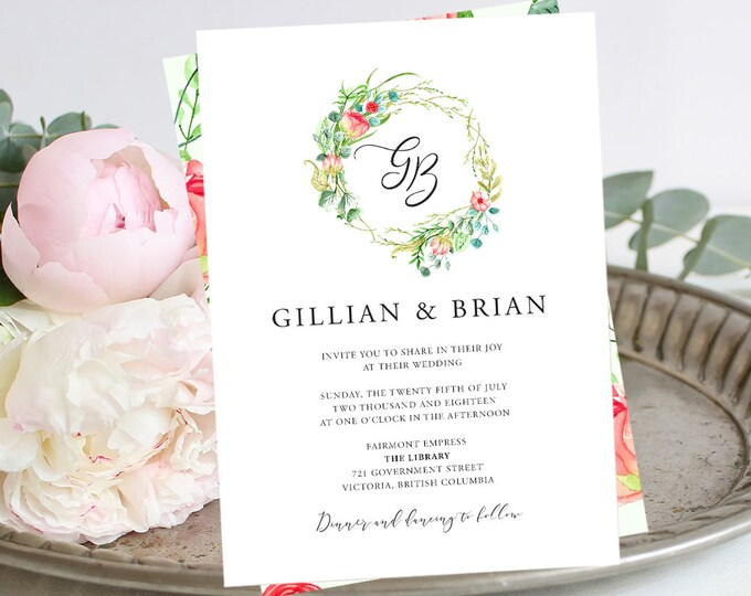 Wedding Invitations - Country Charm (Style 13798)