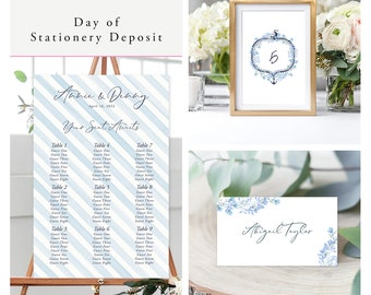 Sweet Sails (Style 13630) - Day of Stationery Deposit Add On