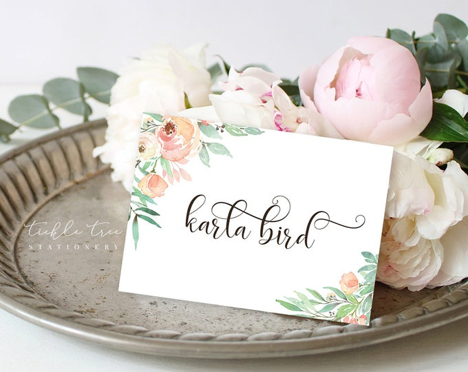Featured listing image: Place Cards - Nature's Dreamers (Style 13821)