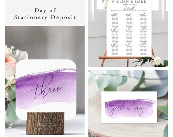 Peony Love (Style 13764) - Day of Stationery Deposit Add On
