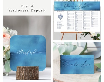 Ocean Falls (Style 13651) - Day of Stationery Deposit Add On