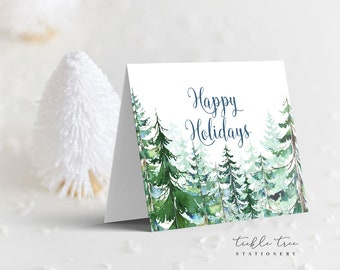 Holiday Note Card - Holiday Forest (HC10)