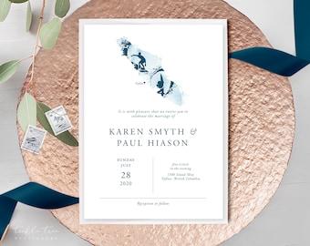 Wedding Invitations - Island Surf (Style 13941)