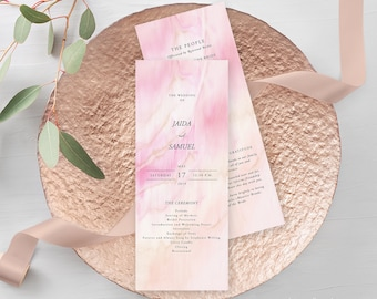Wedding Programs - Once Upon A Time (Style 13671)