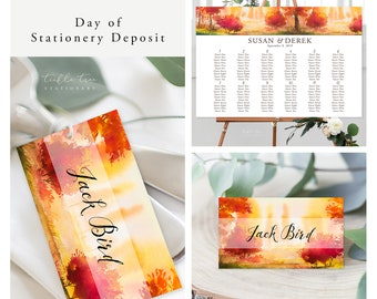 Fallen for You (Style 13562) - Day of Stationery Deposit Add On