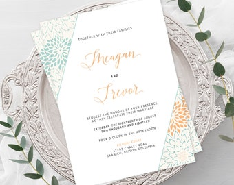 Wedding Invitations - Modern Hip (Style 13784)