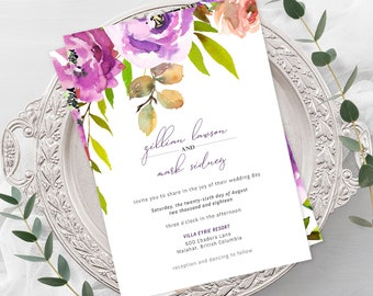 Wedding  Invitations - Peony Love (Style 13764)
