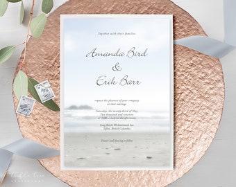 Wedding Invitations - Long Beach (Style 13183)