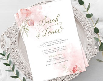 Wedding  Invitations - Mystic Garden (Style 13830)