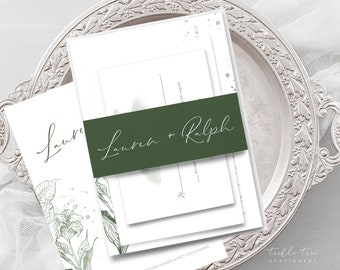 Wedding Invitations - Morning Meadow (Style 13903)