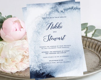 Printable Wedding Stationery - Whistler Winds (Style 13760)