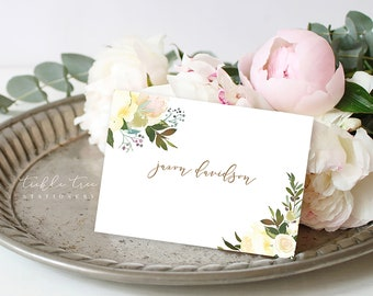 Day of Details - Place Cards/Design & Printing - White Summer (Style 13816)
