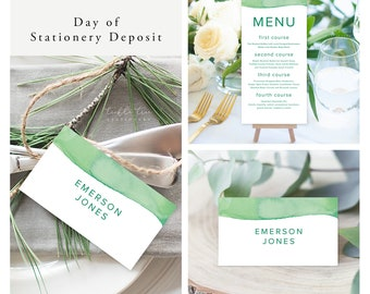 Rainforest Paint Dip (Style 13968) - Day of Stationery Deposit Add On