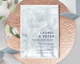 Wedding Invitations - Abstract Art/Paint Affects (Style 13979)