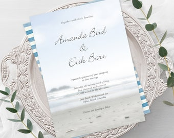 Wedding Invitations - Long Beach (Style 13183)