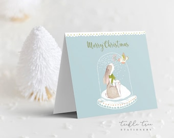 Holiday Note Card - Bunny Love (HC11)
