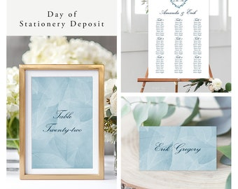 West Coast Whisper (Style 13934) - Day of Stationery Deposit Add On