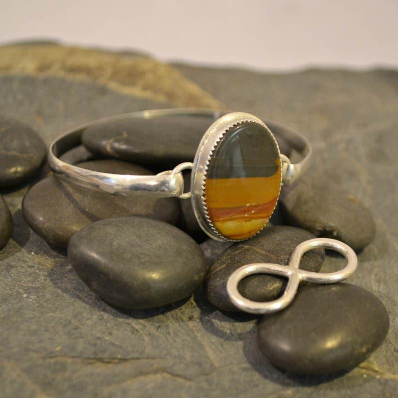 Sterling silver interchangeable bracelet. image 0