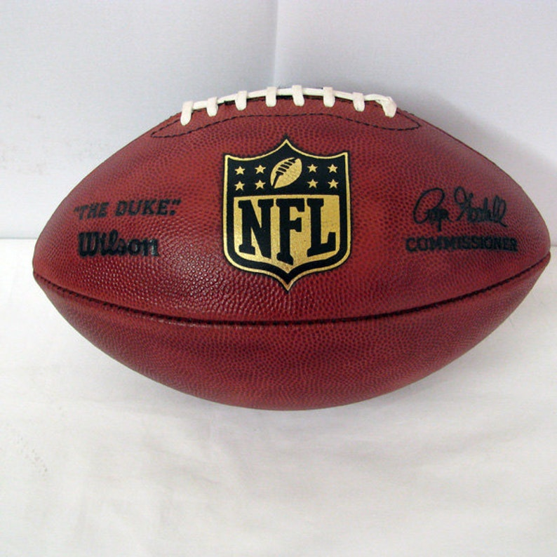 New England Patriots GAME USED Football Cufflinks