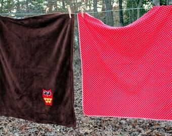 Owl Blanket Set - SALE