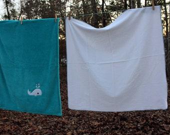 Whale Blanket Set - SALE