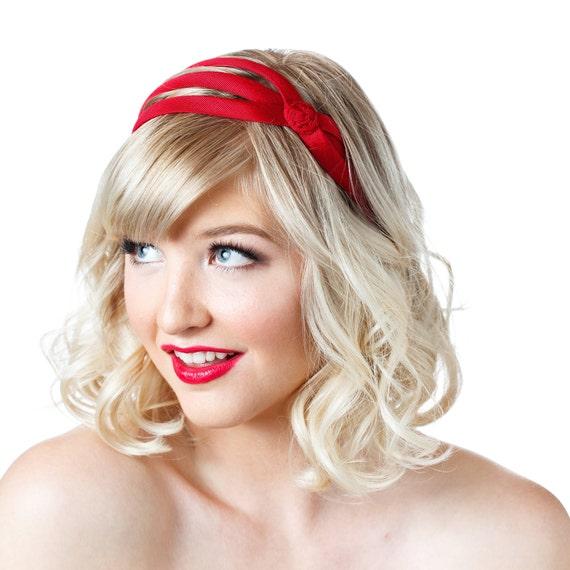 Süße Haarbänder Für Kurze Haare Breit Stoff Stirnband Rutschfeste Verstellbares Kopfband