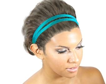 Double Strand Headband, Silk Hair Band, Hairband Women