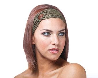 Wide Knot Headband, Short Hair Headband