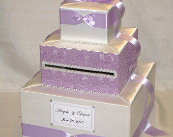 Elegant Custom Made Wedding Card Box-any color combination