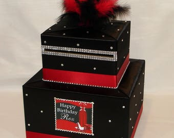 DIVA themed Card Box -any colors can be made